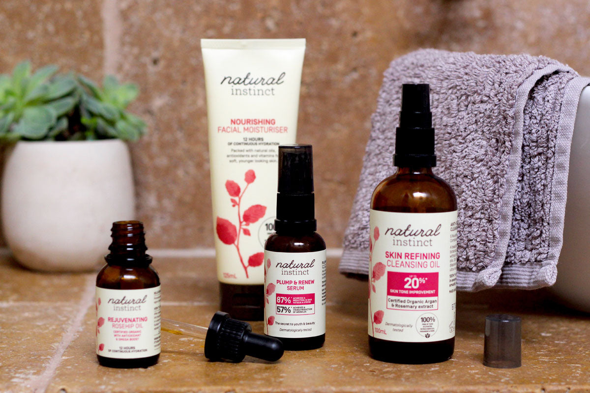 Natural Instinct Skin Care Range