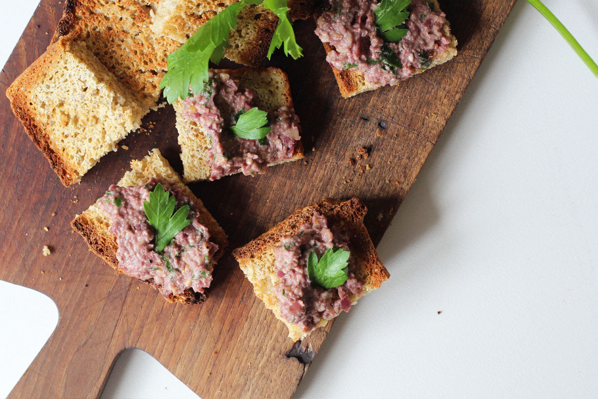 Olive tapenade with walnuts