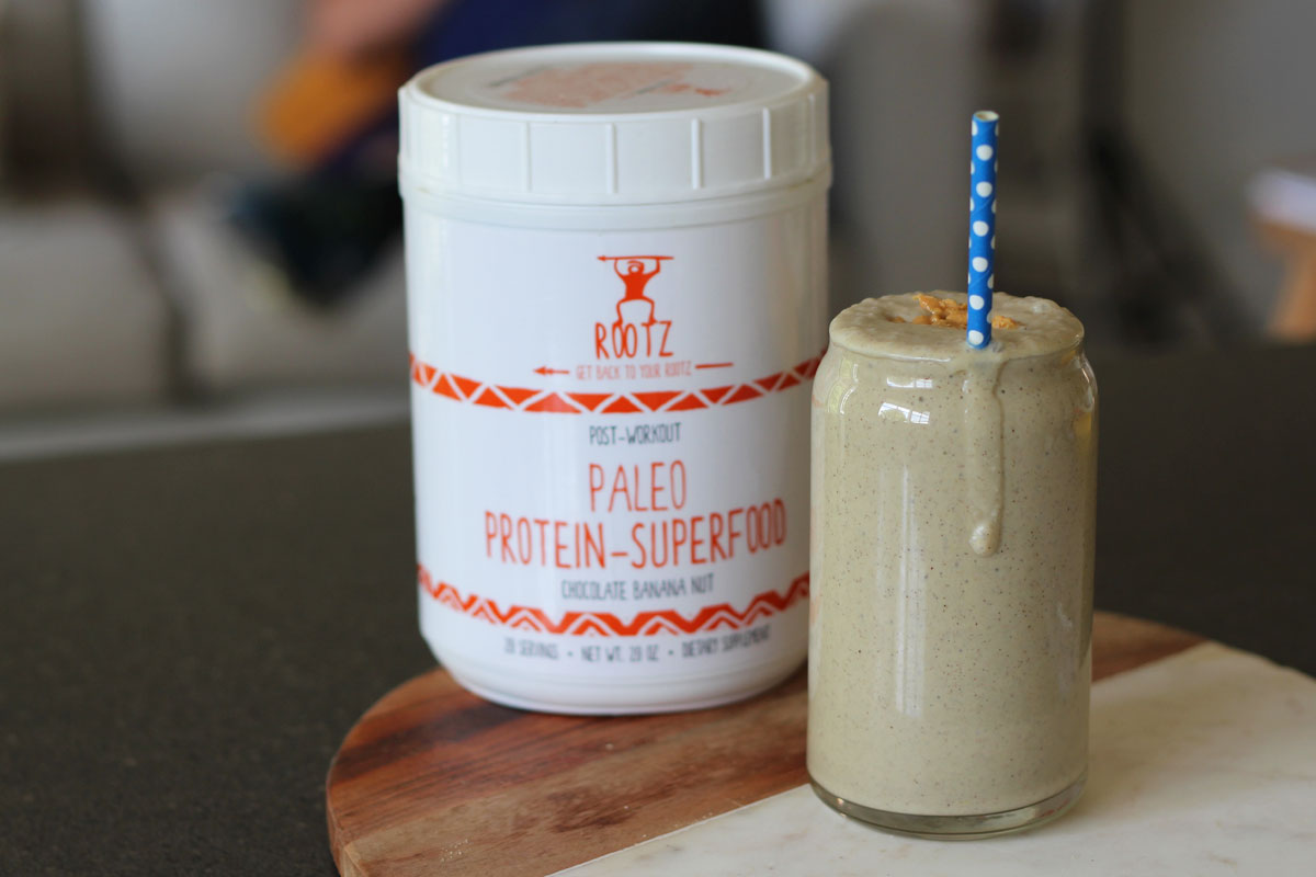 Peanut Butter Banana Protein Smoothie