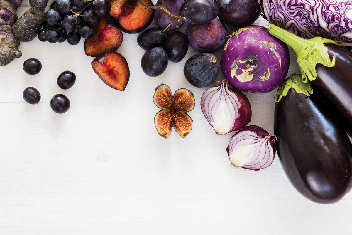 Health benefits purple food
