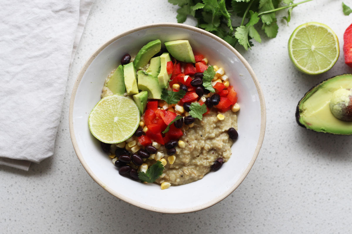 Savoury Oats Mexican Bowl