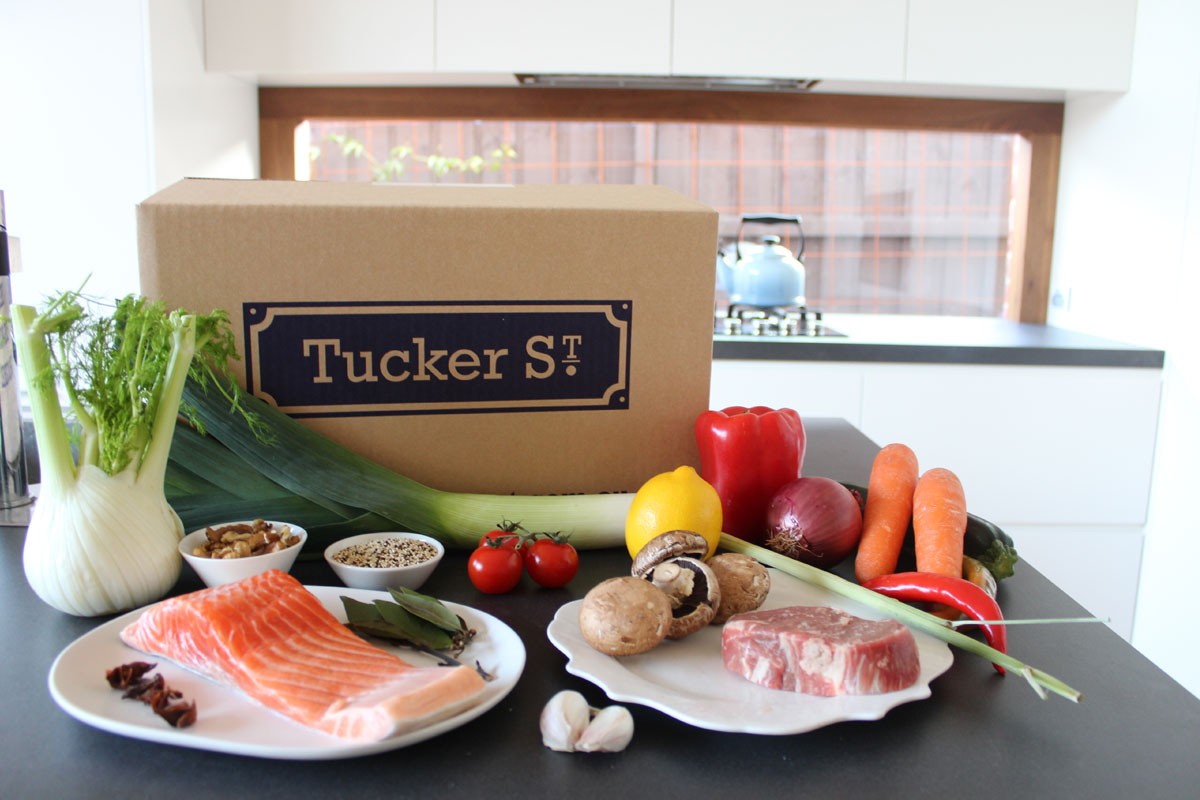 Tucker Street Delivery Box