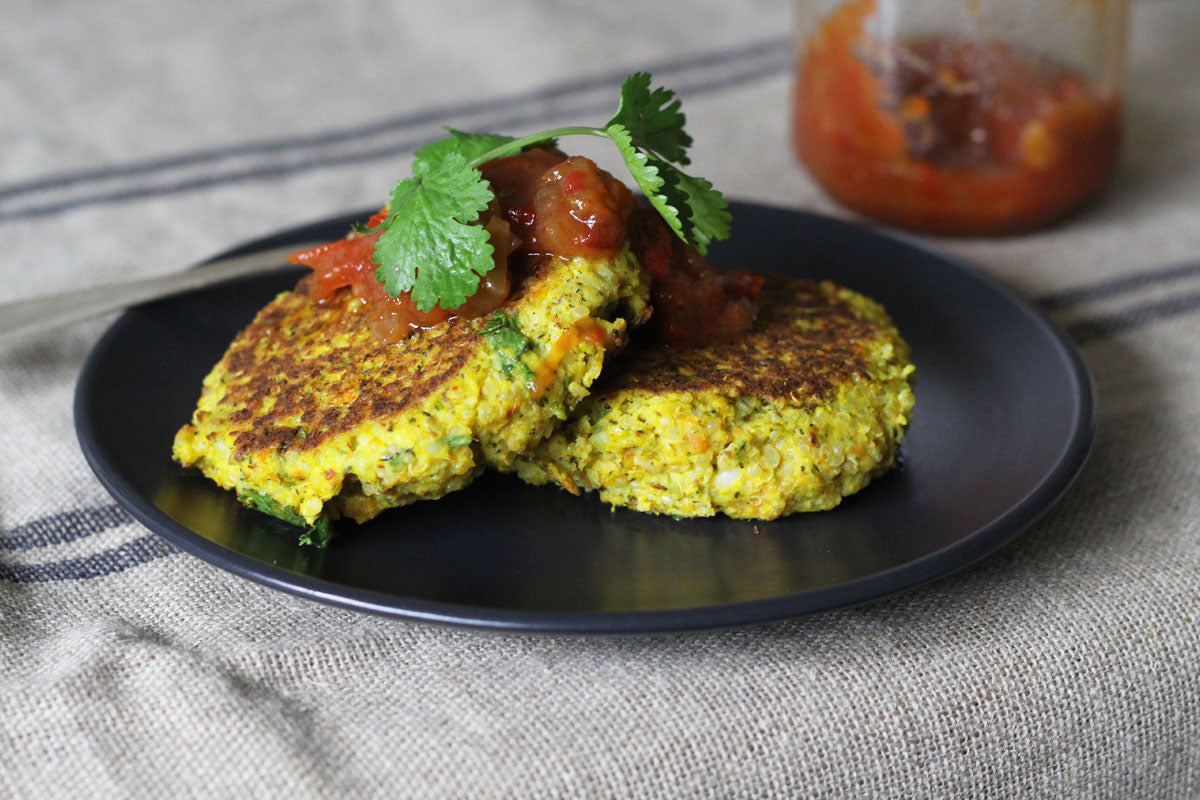 Leftover Vegetable and Quinoa Fritters
