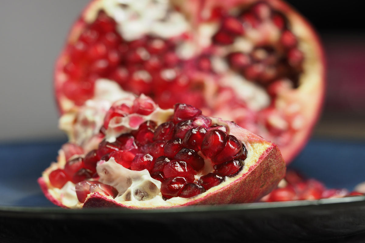Home made chocolate pomegranate