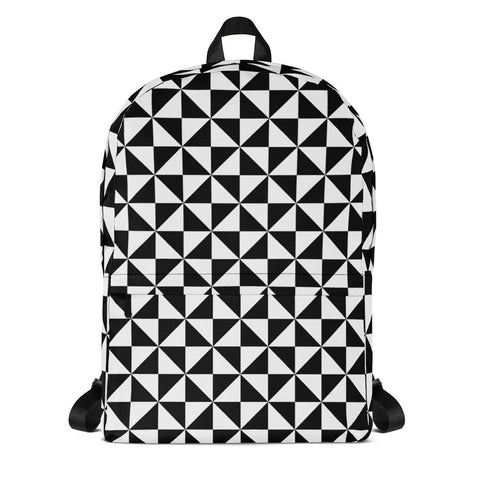 Backpack | B&W Triangles | ACES INFINITY