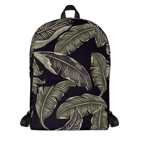 Backpack | Grey Leaves | ACES INFINITY