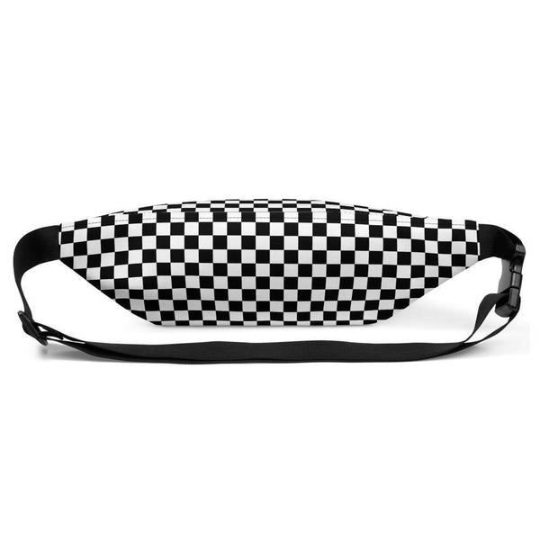 Fanny Pack | B&W Checkers | ACES INFINITY