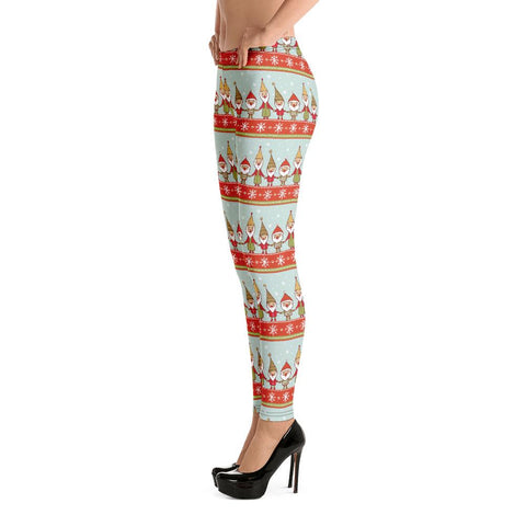 Fashion Leggings | Christmas Series #5 | Light Green | ACES
