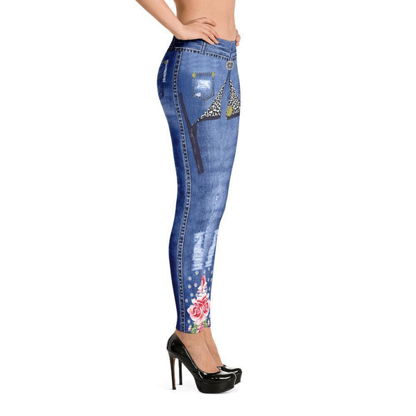 Fashion Leggings | Fancy | Denim & Roses | ACES INFINITY