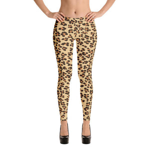 Fashion Leggings | Fancy | Leopard Print | ACES INFINITY