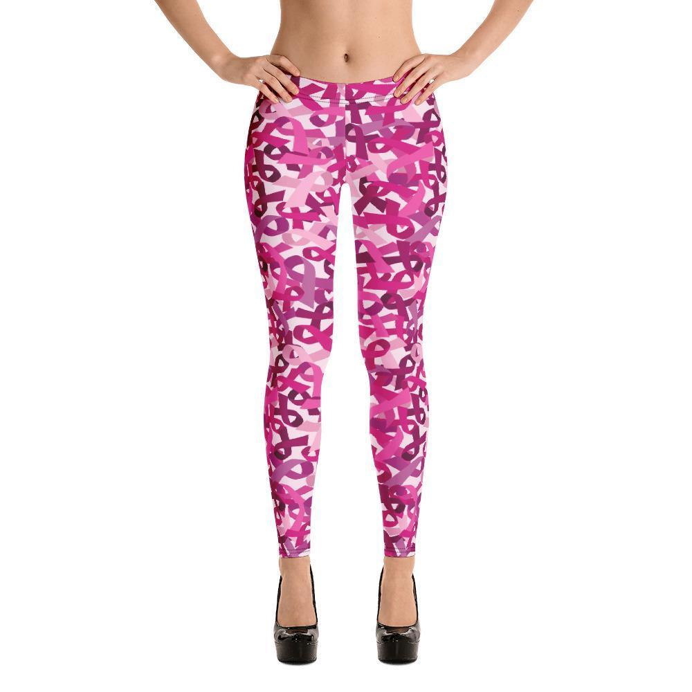 Fashion Leggings | Fancy | Pink Ribbons | ACES INFINITY