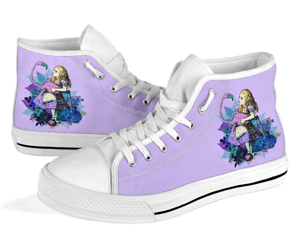 High Top Sneakers - Alice in Wonderland Gifts #22