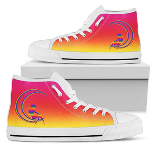 High Top Sneakers - Rainbow Fairy | Woman's Colorful