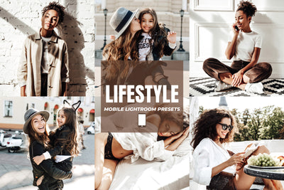 LIFESTYLE MOBILE LIGHTROOM PRESETS by The Viral Presets