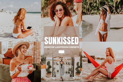 SUNKISSED DESKTOP LIGHTROOM PRESETS
