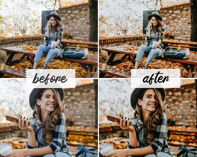 VINTAGE FILM MOBILE LIGHTROOM PRESETS by The Viral Presets
