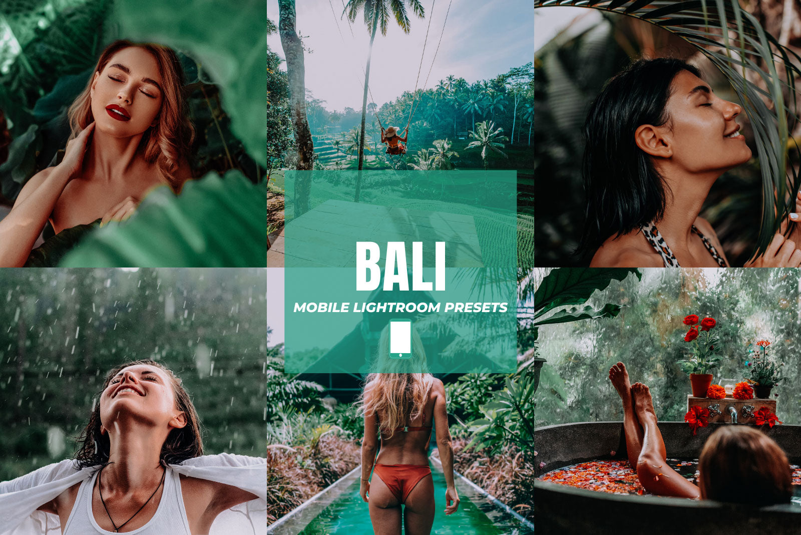 BALI MOBILE LIGHTROOM PRESETS by The Viral Presets