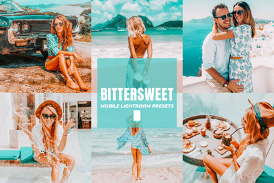 BITTERSWEET MOBILE LIGHTROOM PRESETS by The Viral Presets