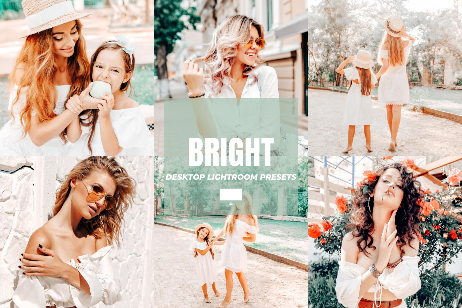 BRIGHT DESKTOP LIGHTROOM PRESETS