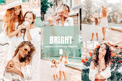 BRIGHT MOBILE LIGHTROOM PRESETS