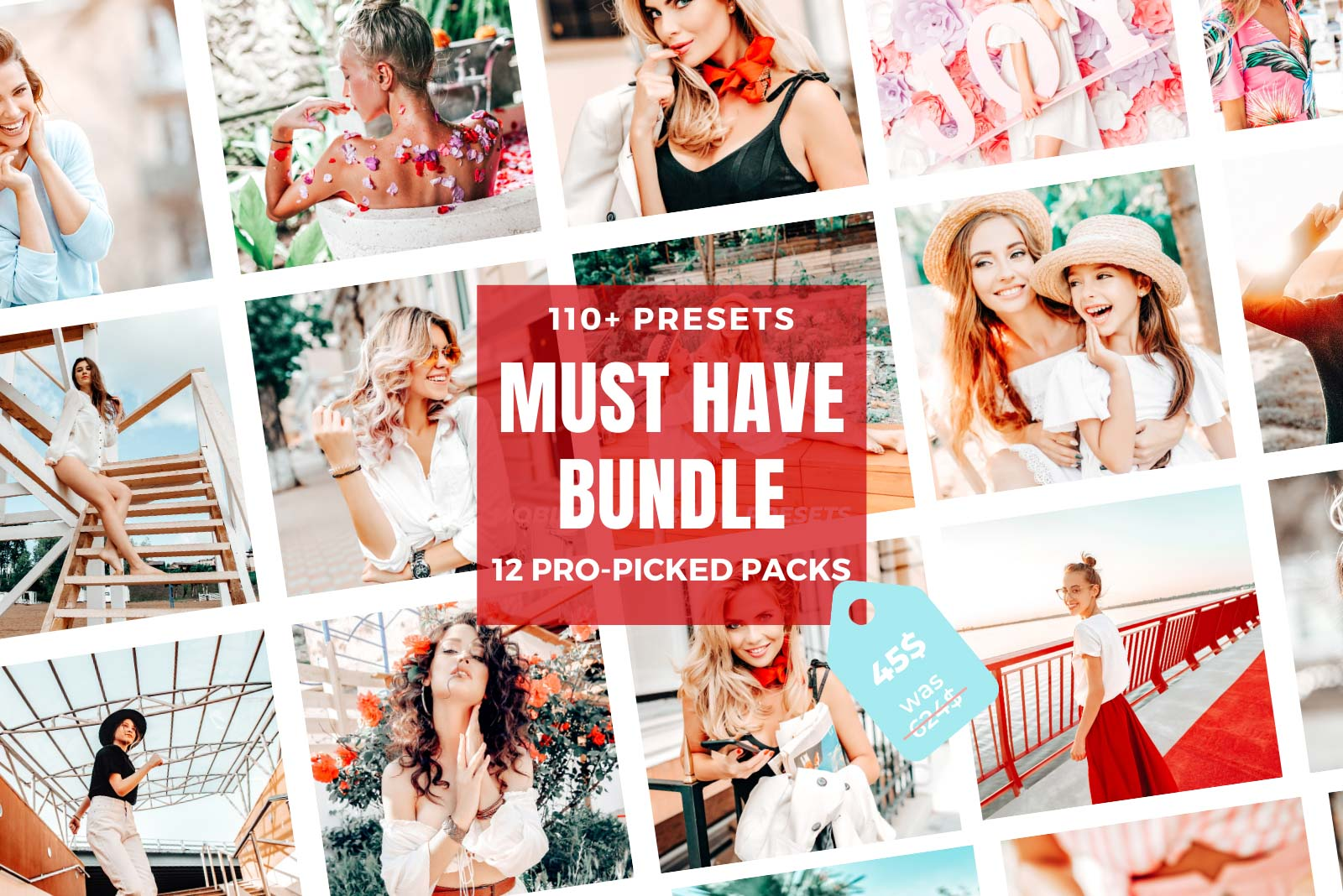 MUST HAVE LIGHTROOM PRESETS BUNDLE