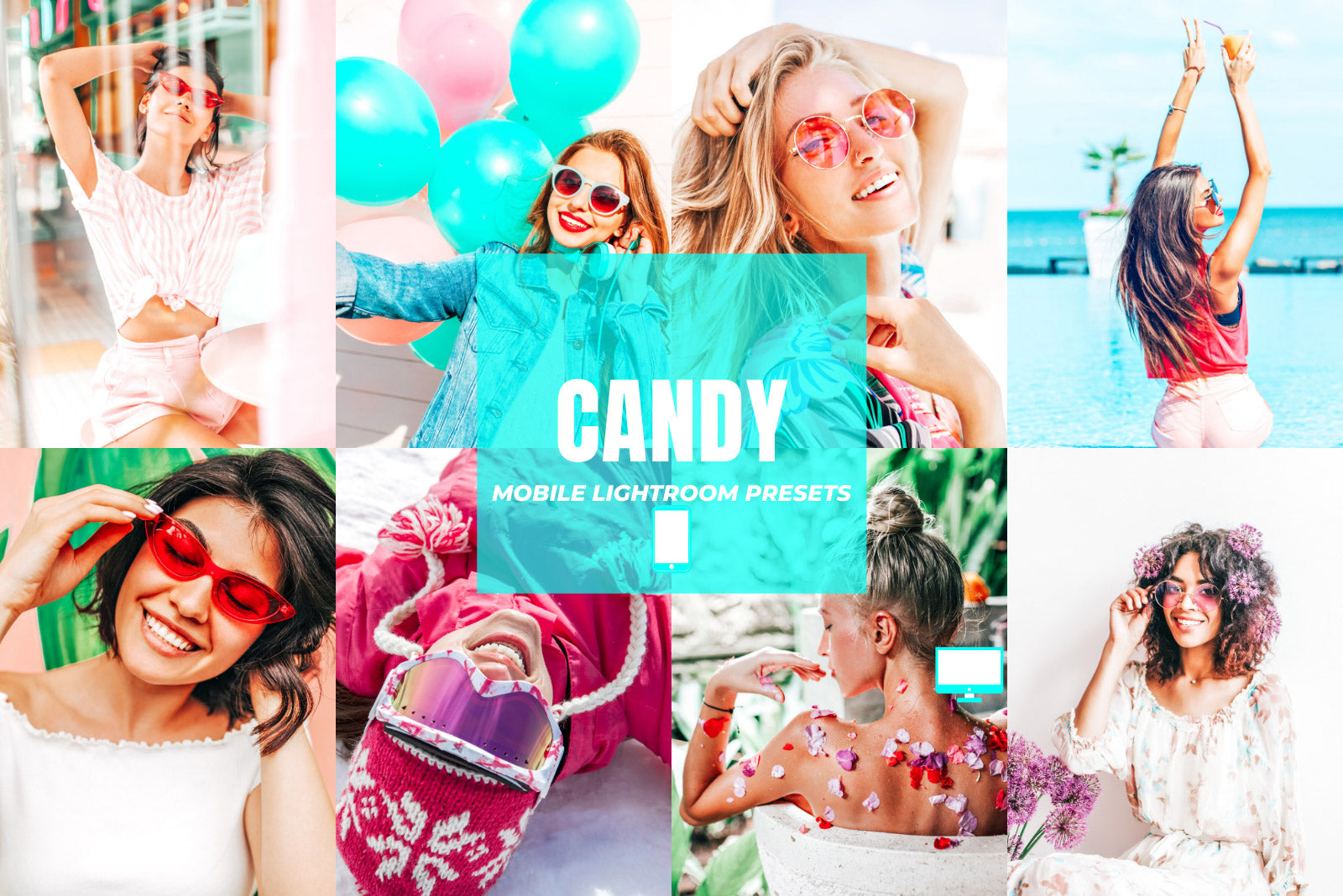 CANDY DESKTOP LIGHTROOM PRESETS by The Viral Presets