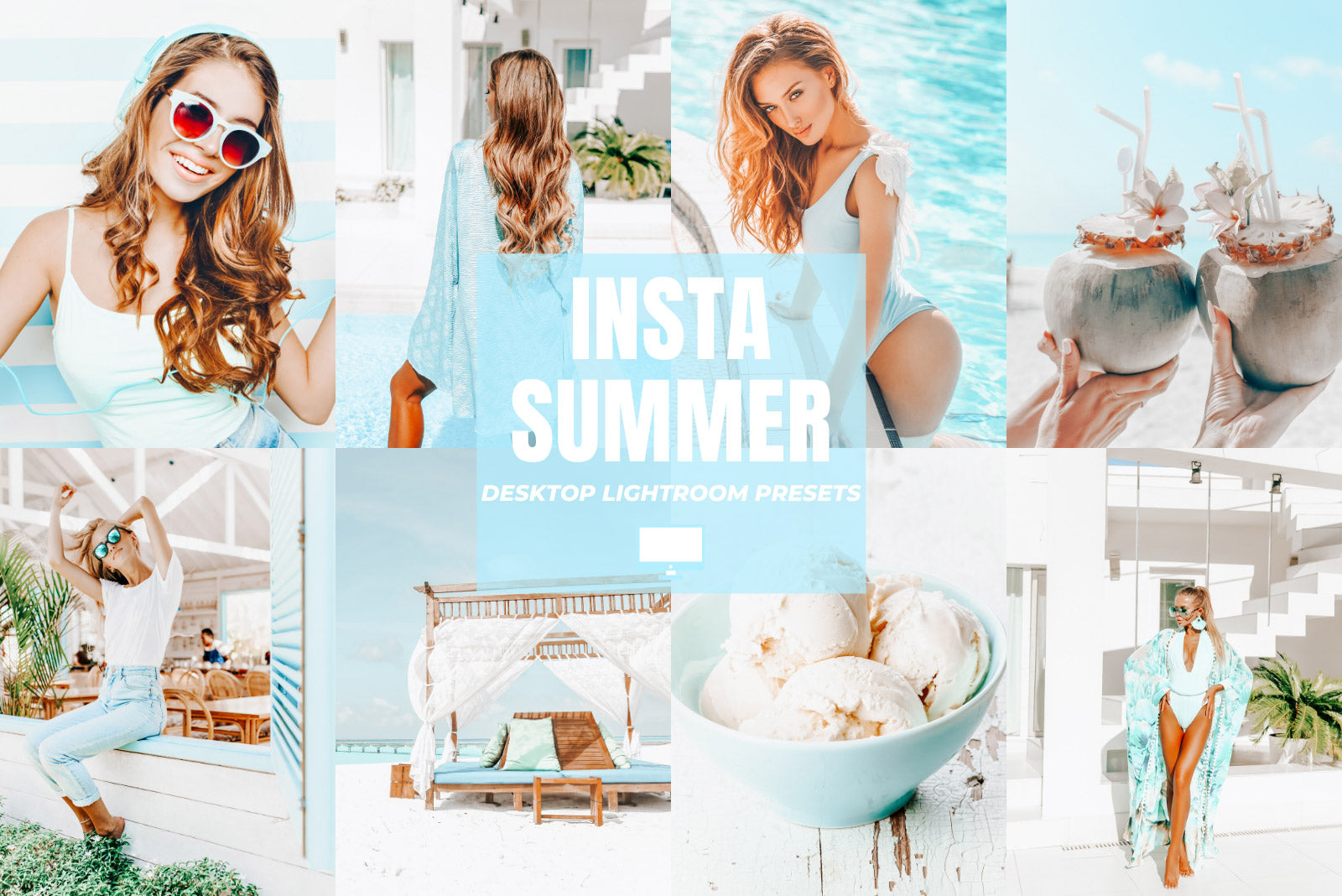 INSTA SUMMER DESKTOP LIGHTROOM PRESETS by The Viral Presets