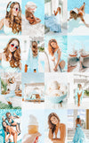 INSTA SUMMER MOBILE LIGHTROOM PRESETS by The Viral Presets