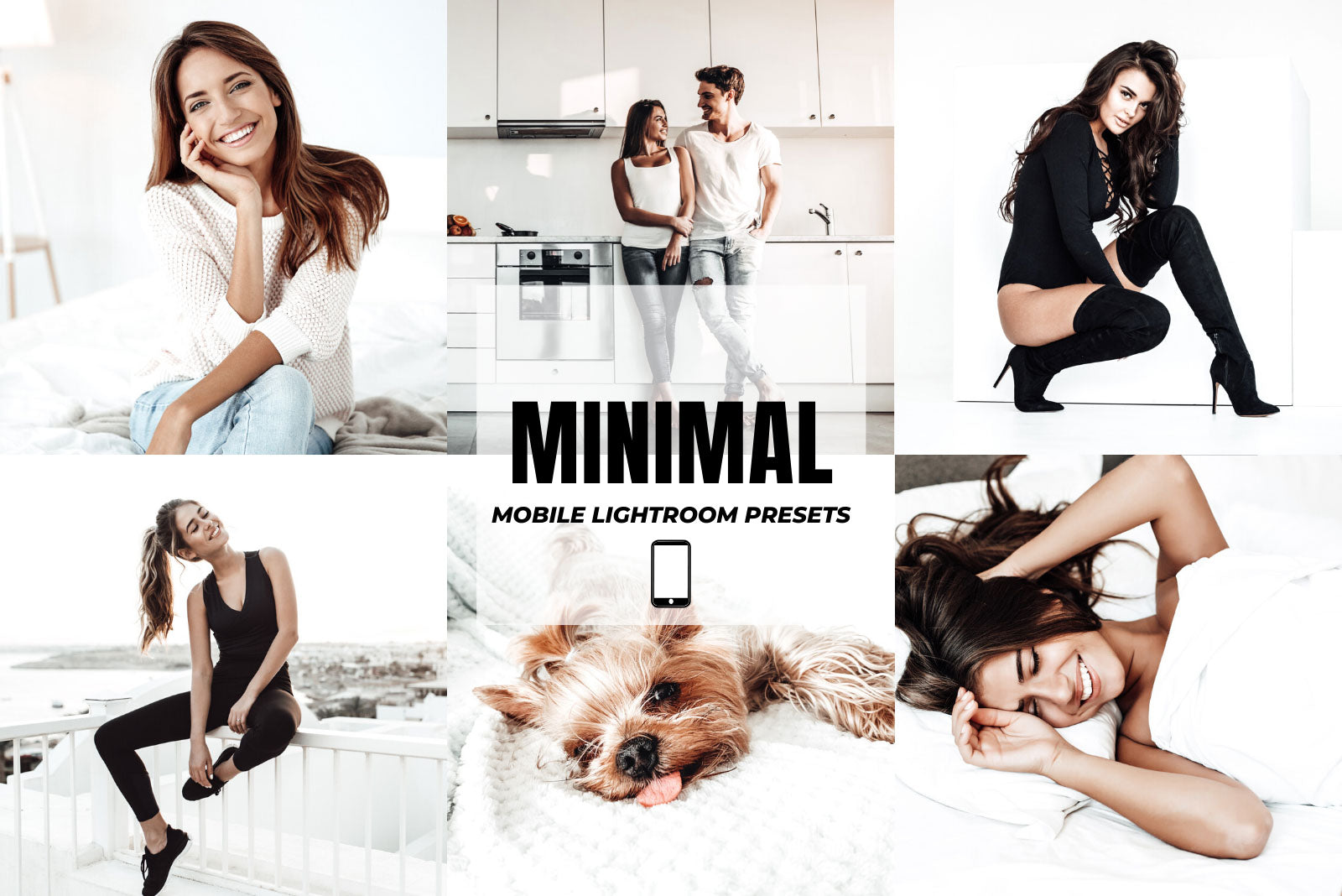 MINIMAL MOBILE LIGHTROOM PRESETS by The Viral Presets