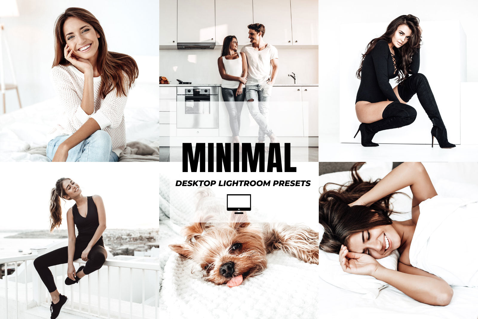 MINIMAL DESKTOP LIGHTROOM PRESETS by The Viral Presets