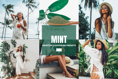 MINT DESKTOP LIGHTROOM PRESETS by The Viral Presets