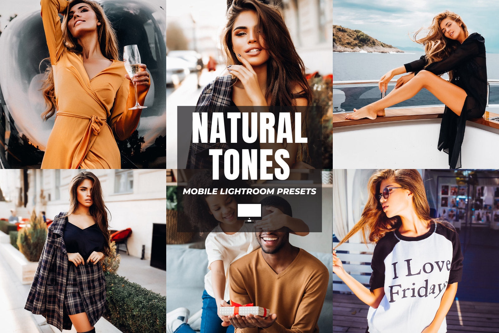 NATURAL TONES DESKTOP LIGHTROOM PRESETS by The Viral Presets