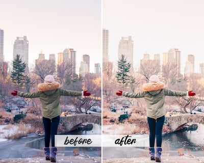 NYC BLOGGER MOBILE LIGHTROOM PRESETS by The Viral Presets