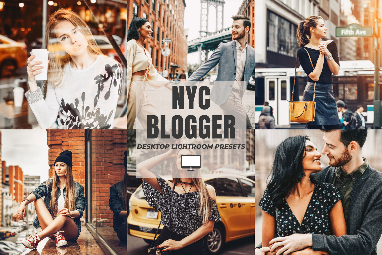NYC BLOGGER DESKTOP LIGHTROOM PRESETS by The Viral Presets