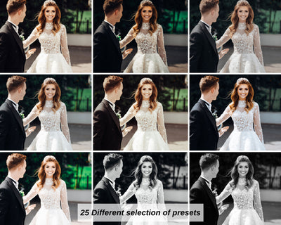 PERFECT WEDDING DESKTOP LIGHTROOM PRESETS BUNDLE by The Viral Presets