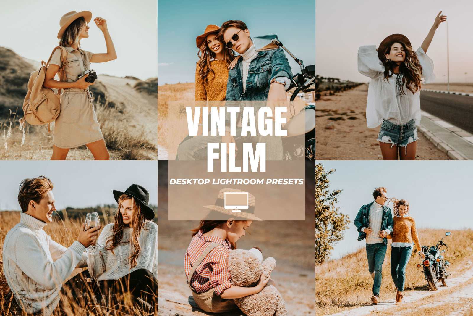 VINTAGE FILM DESKTOP LIGHTROOM PRESETS by The Viral Presets