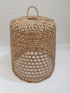 Large Woven Bamboo Light Shade