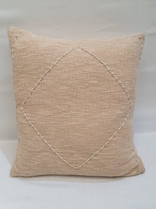 Soft Pink Diamond Cushion