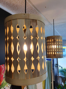 Bamboo Cut out Light Shade