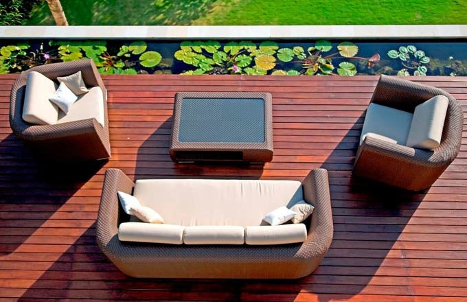 The 'Breeze' Outdoor Wicker Set