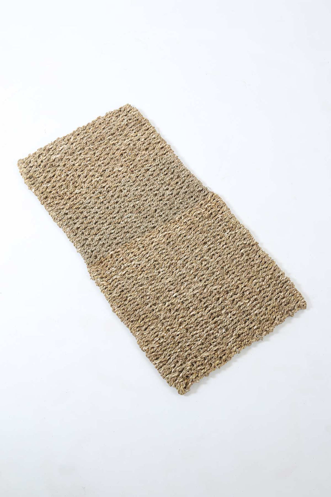 Hand Woven Seagrass Doormat in Natural