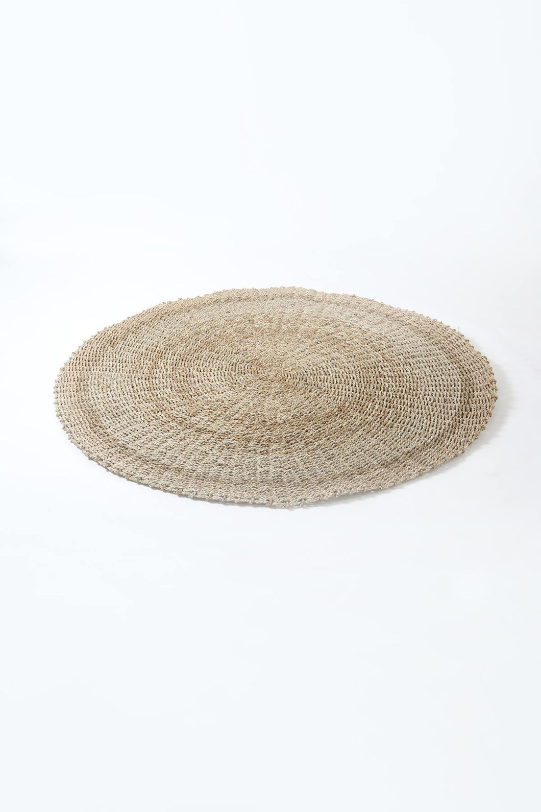 Round Natural Twisted Jute Rope Mat/Floor Rug