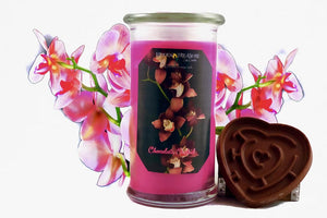 Chocolate Orchid Treasure Candle