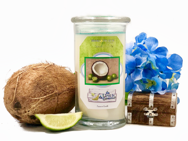 Da Lime in Da Coconut Treasure Candle