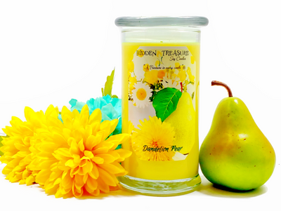 Dandelion Pear Treasure Candle