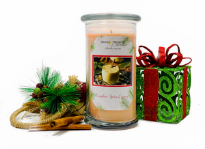 Pumpkin Spice Egg Nog Treasure Candle