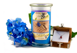 Forget-Me-Not Treasure Candle