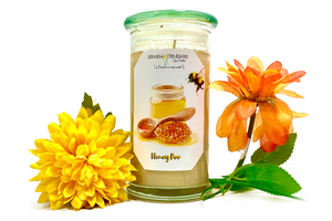 Honey Bee Treasure Candle