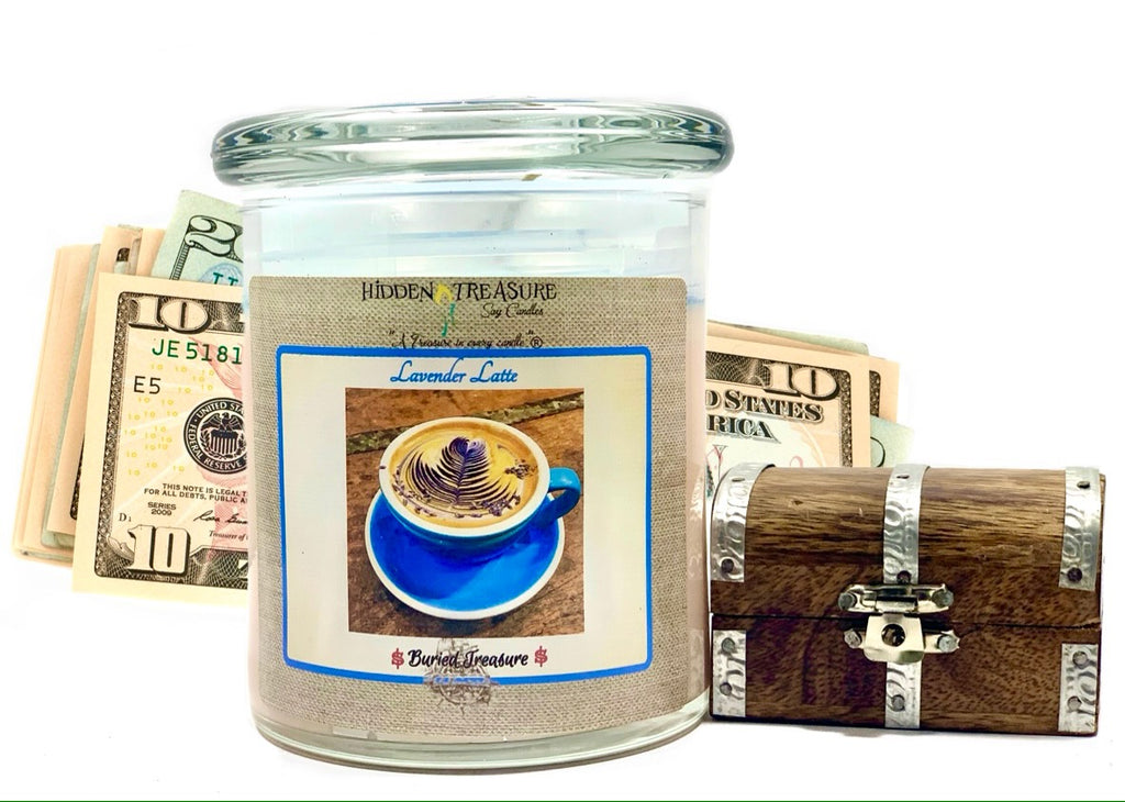 Lavender Latte Cash Candle