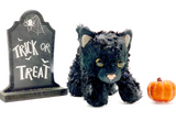 The Black Cat 7 inch Wax Dipped Critter